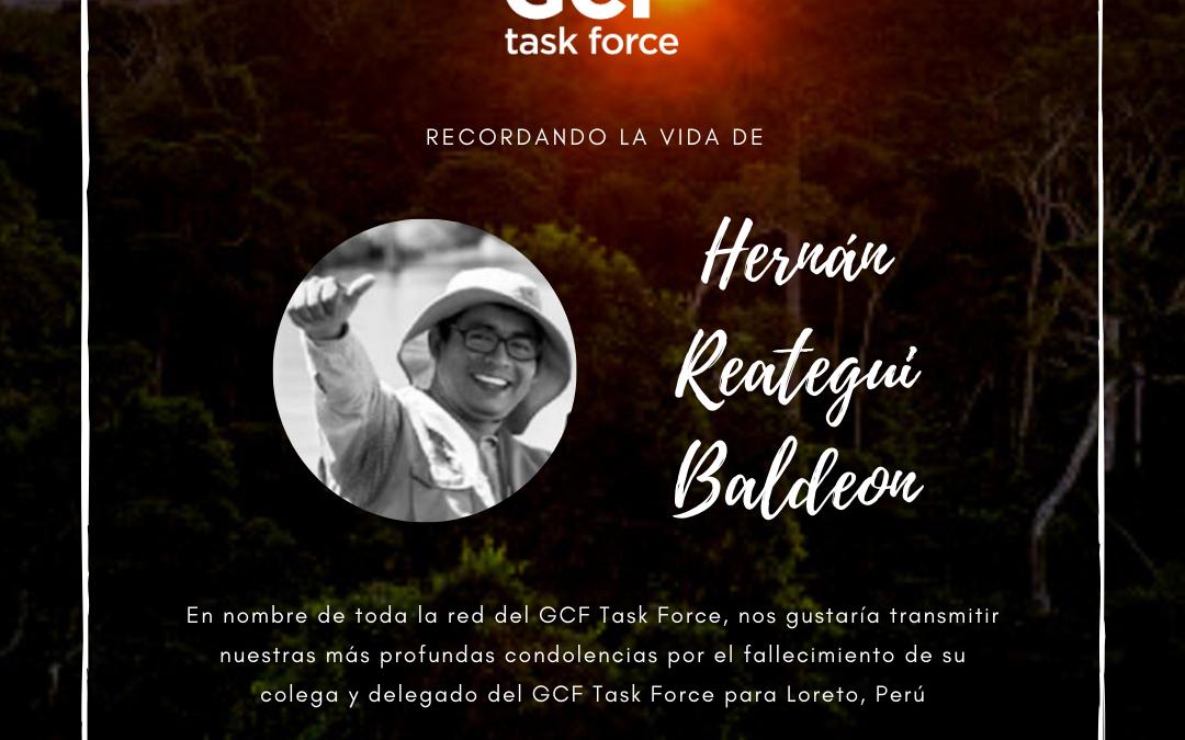 Recordando la vida de Hernán Reategui Baldeon