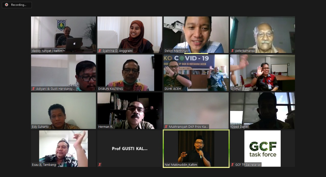 Indonesian Provinces Advance Initiatives Through Virtual Collaboration