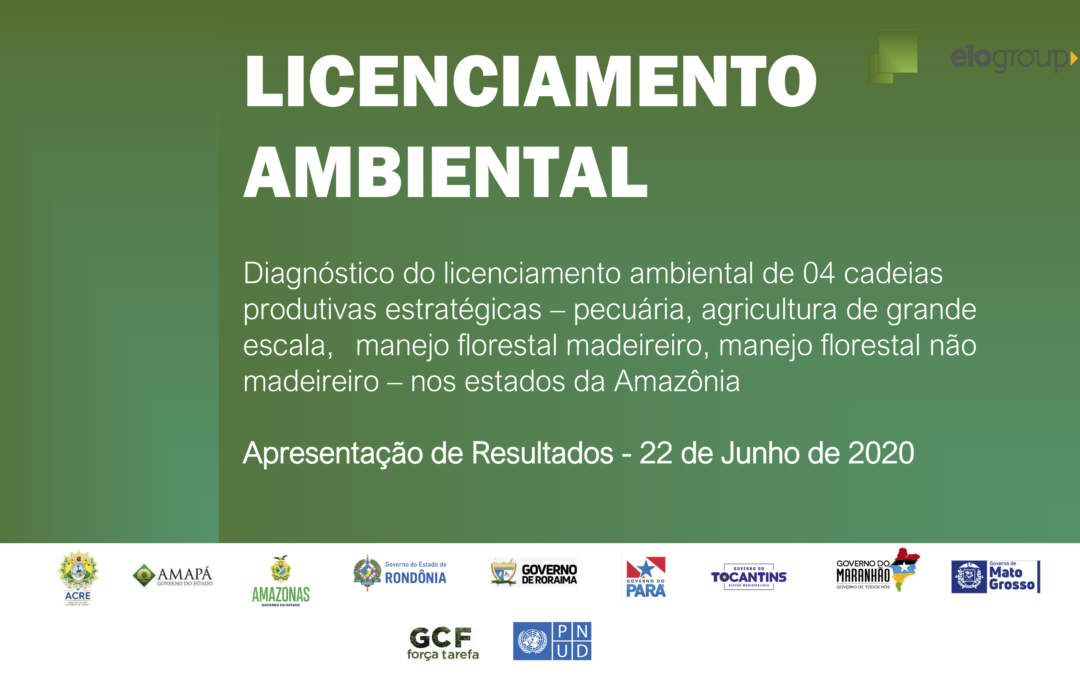 New report on Environmental Licensing released by Brazilian Amazon States
