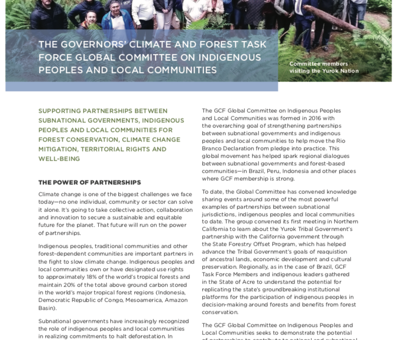 Global Committee for Indigenous Peoples and Local Communities