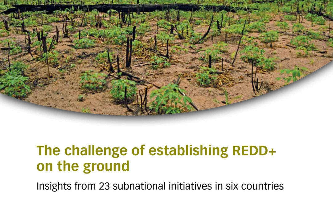The challenge of establishing REDD+ on the ground