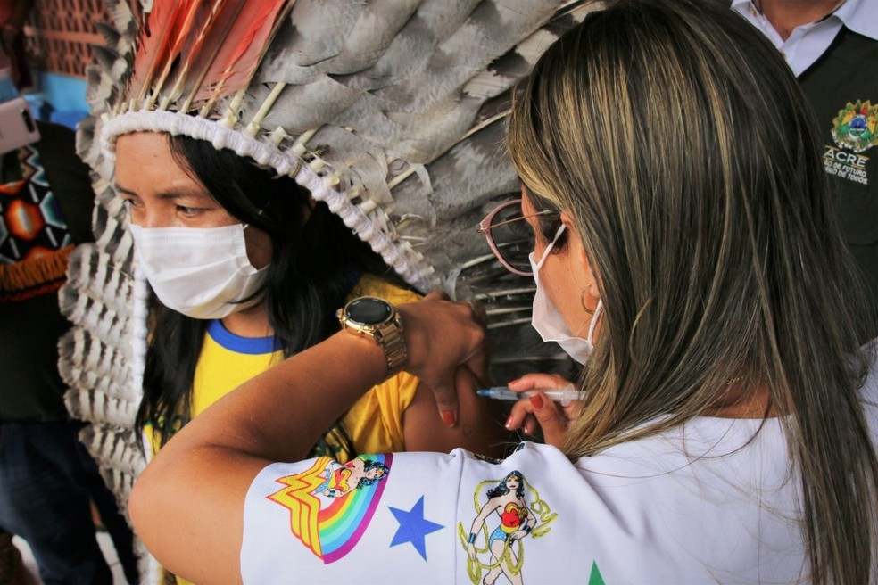 State of Acre works to immunize indigenous peoples against Covid-19