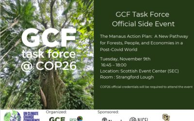 GCF Task Force Official Side Event at COP26